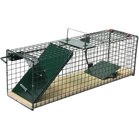 Trampa para animales vivos - Martas, Gatos, Zorros etc. Suelo de madera