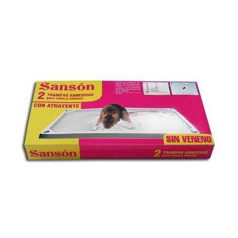 Trampa ratones adhesiva Sansón (2 unid)