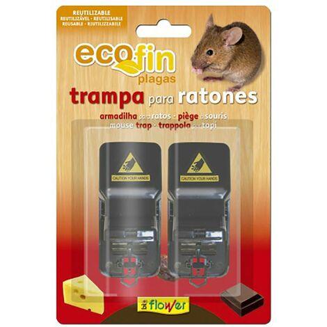 Trampa Ratones Mecanica 2 Pz Ecofin 1-70552