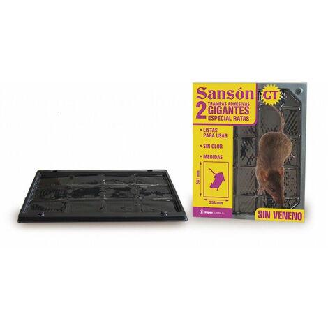 Trampas adhesivas gigantes SANSON GT especiales para ratas (Pack 2 Uds)