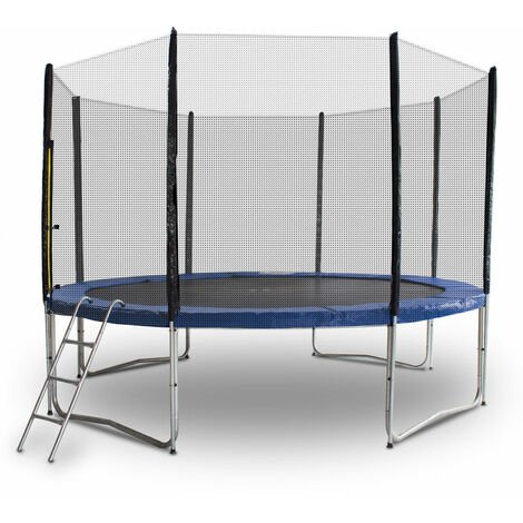 Trampolin 366 / 370 Outdoor Gartentrampolin Komplettset 3,66m 3,70m Modell 2019 mit extra verstärkten Rahmen