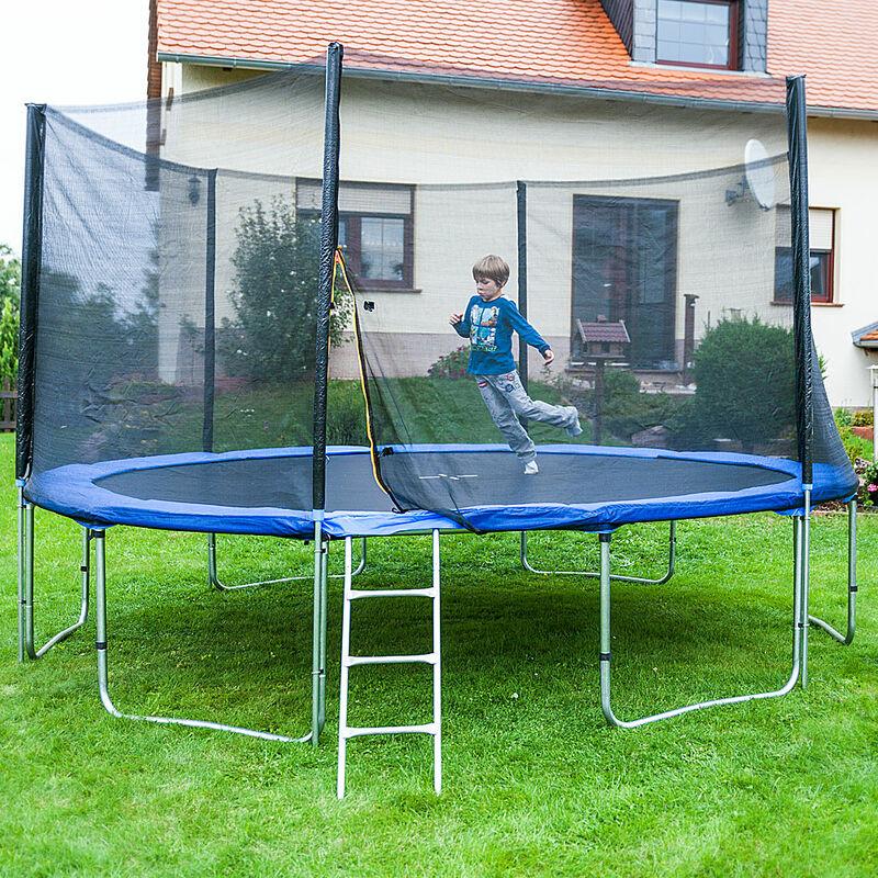 Trampolin 430 Outdoor Gartentrampolin Komplettset 4,30 m 430 cm
