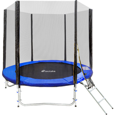 Trampolin con red de seguridad