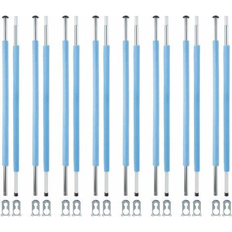 Trampolin Stangen-Set 233 cm / 8 Stück
