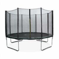 Trampoline Ø370cm - Saturne vert avec son filet de protection - Trampoline de jardin 370cm 3m  Qualité PRO.   Normes EU.