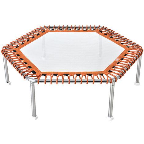 Trampoline aquatique Wx-Tramp Premium - Modèle Hexagonal - 112x112x34cm