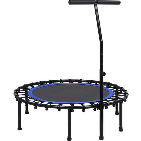 Trampoline de fitness avec poignée 102 cm
