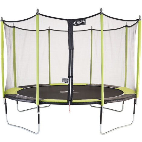 Trampoline de jardin 365 cm + filet de sécurité JUMPI POP 360