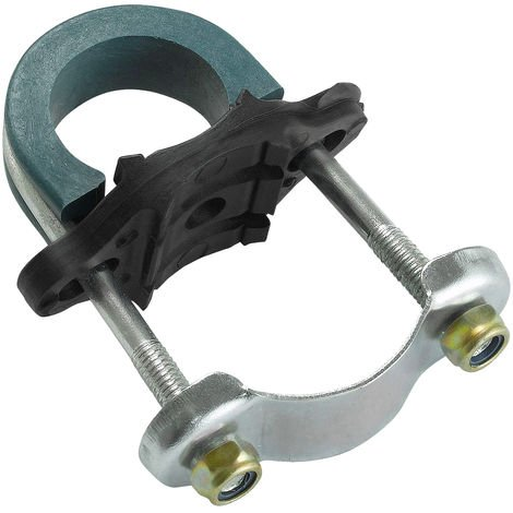 "Trampoline Enclosure Pole Clamps / Brackets / U-Bolts for Poles up to 1"" & Legs up to 1.5"" Diameter 
