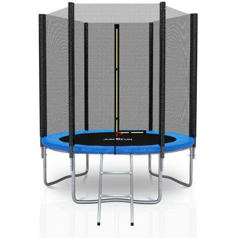 Trampoline extérieur Deluxe Jump4Fun 6Ft / ø185cm Choix couleurs