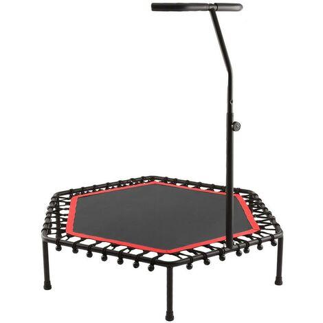 Trampoline fitness Bungee-Corde-Système avec guidon réglable rouge - Rouge