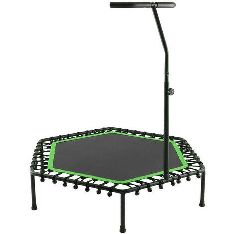 Trampoline fitness Bungee-Corde-Système avec guidon réglable vert - Vert