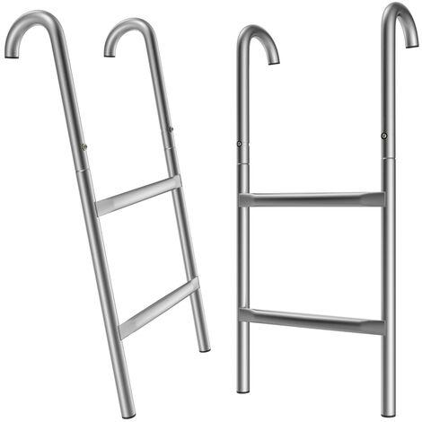 Trampoline Ladder Entrance Steps 110/90/76 cm Garden Outdoor common Trampoline