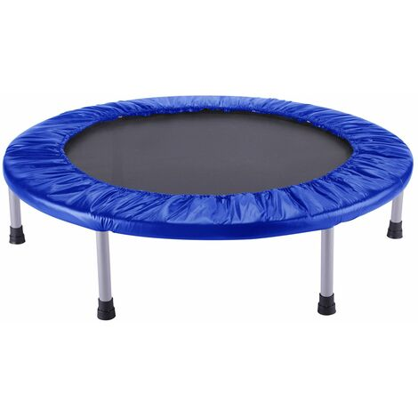 Trampoline Outdoor Toys Fitness Blue Diamètre 102 cm