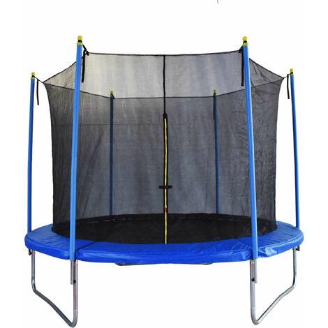Trampoline Outdoor Toys FLY Diamètre 305 cm Avec Filet de Sécurité