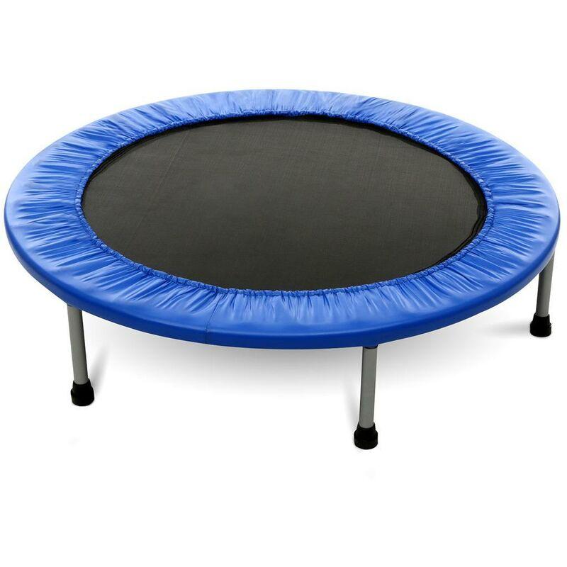 Trampoline pour exercice de plein air 96cm Bleu - Bleu