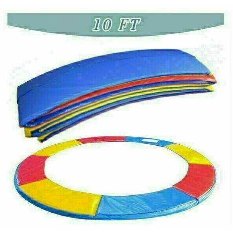Trampoline Replacement Pad Safety Spring Cover Padding Multicolour -10ft