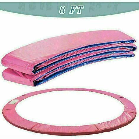 Trampoline Replacement Pad Safety Spring Cover Padding Pink - 8 ft