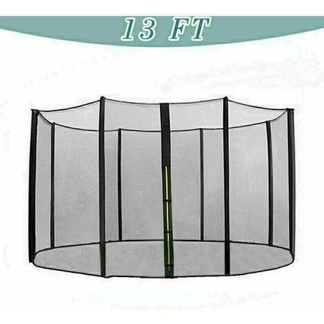 Trampoline Replacement Safety Net Enclosure Surround Netting - 13ft