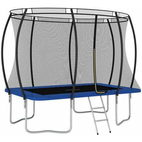 Trampoline Set Rectangular 274x183x76 cm 150 kg