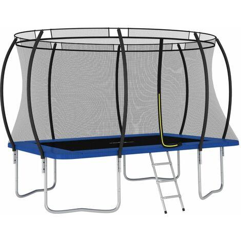 Trampoline Set Rectangular 335x244x90 cm 150 kg