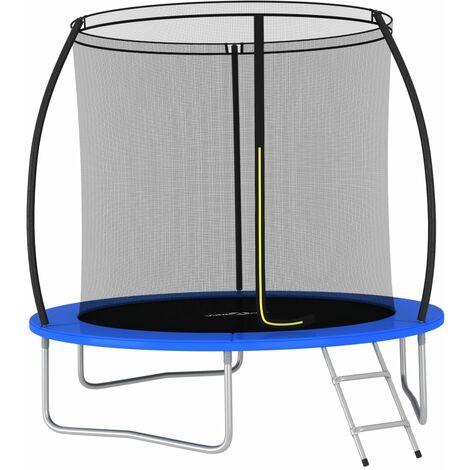 Trampoline Set Round 244x55 cm 100 kg