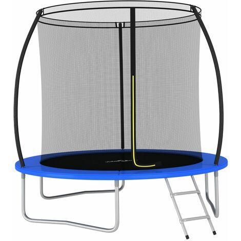 "main image of ""Trampoline Set Round 244x55 cm 100 kg - Black"""