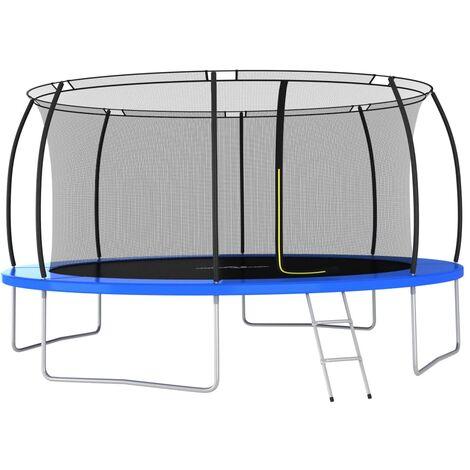 Trampoline Set Round 460x80 cm 150 kg
