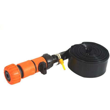 "main image of ""Trampoline Sprinkler Outdoor Trampoline Water Sprinkler Water Hose 32.8ft with Switch for Summer Fun Outdoor Water Game,model:Green 10 Meters"""