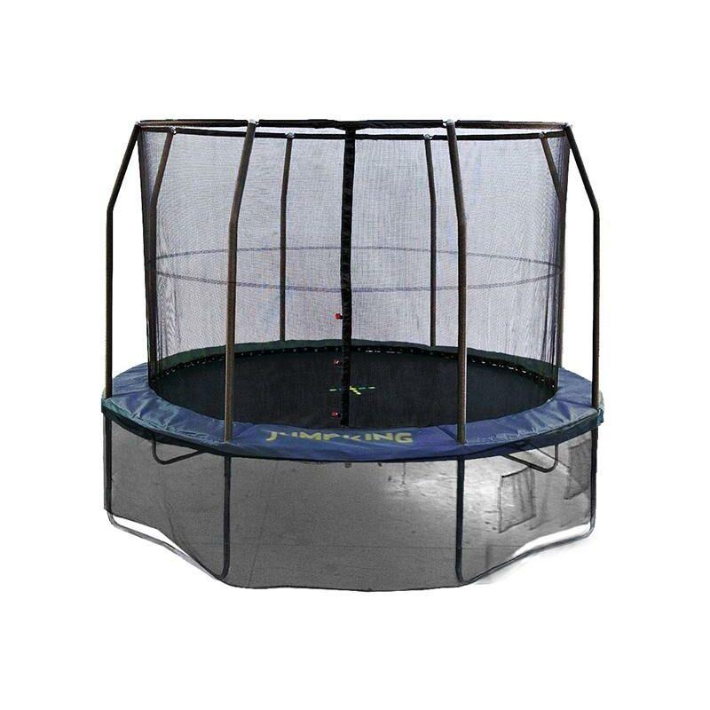 Trampolino Tappeto Elastico 243 Cm Jumpking Professional 8 Ft - Diametro: 243 Cm -