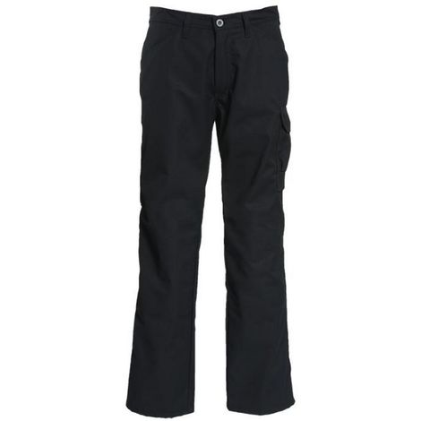 Tranemo Mens Comfort Light Non Scratch Lightweight Trousers (36T) (Black)