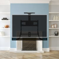 TranquilMount UK TMO800A - Pull Down TV Mount Over The Fireplace   Mantel Mount