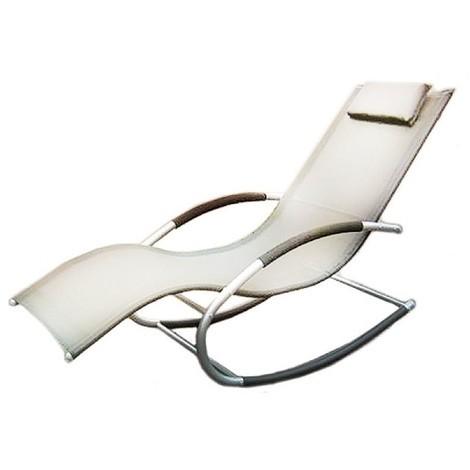 transat a bascule gris anthracite cf 6554411. Black Bedroom Furniture Sets. Home Design Ideas