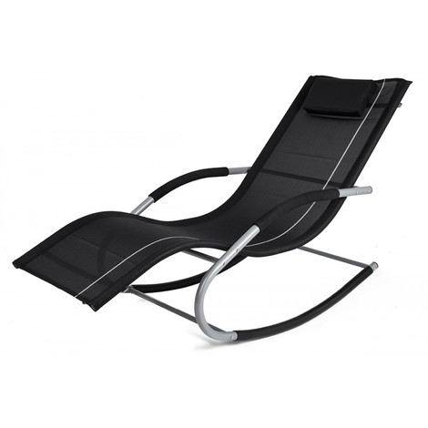 Transat à bascule JAWA ROCK fauteuil piscine jardin