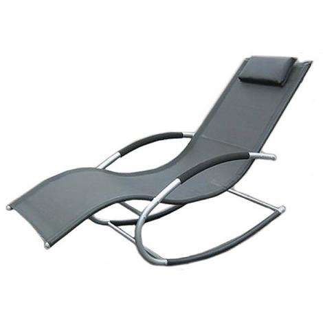 transat a bascule taupe cf 6554410. Black Bedroom Furniture Sets. Home Design Ideas