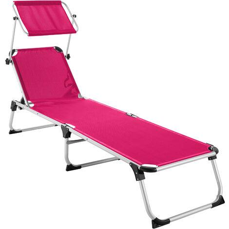 Transat AURELIE - chaise longue de jardin, bain de soleil, transat de plage