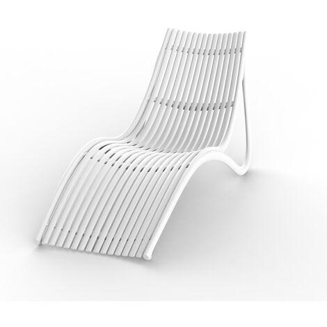 """main image of """"Transat design Ibiza par Vondom - Blanc - Extérieur - Blanc"""""""