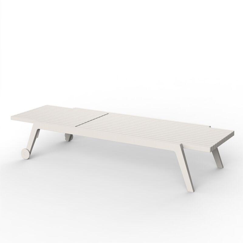 Transat design Spritz par Ecru - Extérieur - Ecru - Vondom