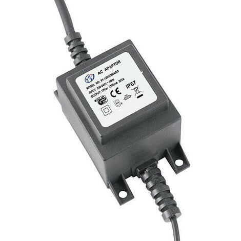 transfo 30W, 12V AC IP67, Heiconect