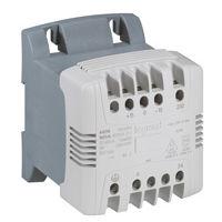 Transfo cde et signal mono bornes à vis - prim 230/400 V/sec 115/230 V - 630 VA
