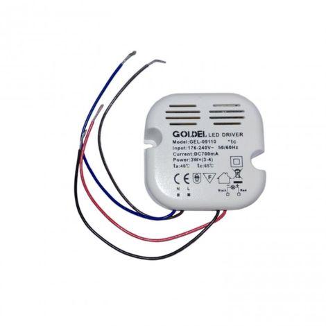Transformador 12V - 220 V hasta 12W