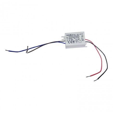 Transformador 12V a 220V hasta 3W