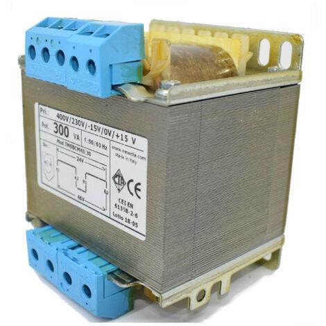 Transformador de la CTA de dos cables de aislamiento de 300VA 230-400/24+24 TMSBCMK0.30