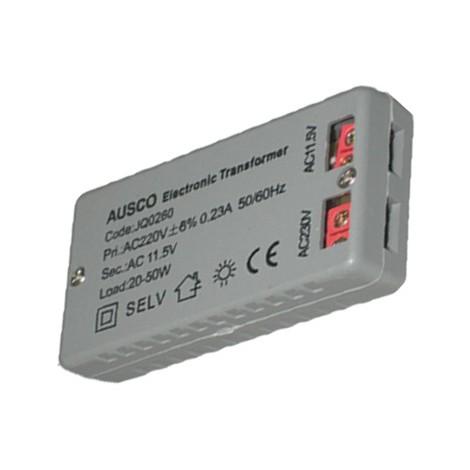 Transformador Electronico 12V 20/50 W 64X35X20 - NEOFERR