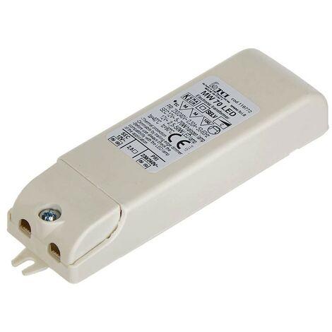 Transformador electrónico TCI 12V Led 1-50W de intensidad regulable 119772