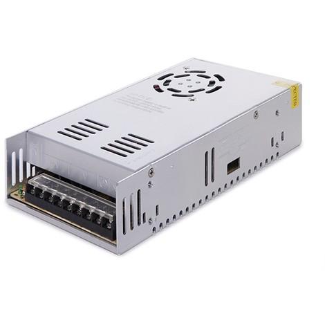 Transformador LED 220VAC/24VDC 400W 16,5A IP25 Ventilador (CP-S-400-24-WF)