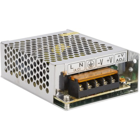 Transformador LED 24VDC 60W/2,5A IP25 (HO-TR-IP25-60W-24V)