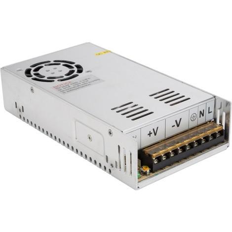 Transformador LED 350W 24VDC 14,6A IP25 (HZ-MPS-350W24V)