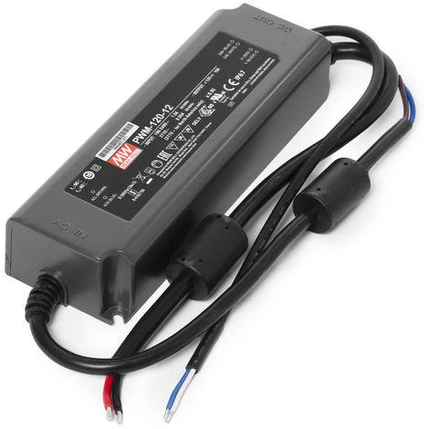 Transformador LED Meanwell 120W 230VAC/12VDC regulación 0-10V IP67 (OL-PWM-120)