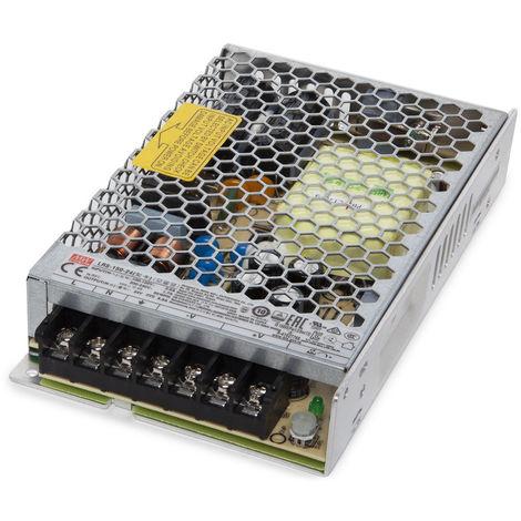 Transformador LED Meanwell 150W 230VAC/24VDC IP20 (OL-LRS-150-24)